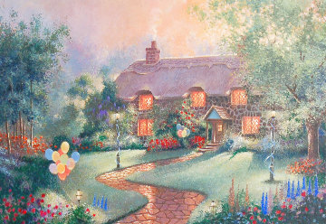 Party Cottage 2000 Limited Edition Print - Andrew Warden