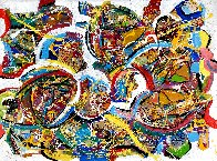 Inspiration 2021 48x36 Super Huge Original Painting by Giora Angres - 0