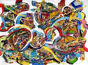 Inspiration 2021 48x36 Super Huge Original Painting - Giora Angres