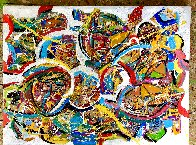Inspiration 2021 48x36 Super Huge Original Painting by Giora Angres - 1
