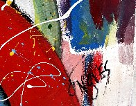 Wound Together 2021 48x48 Super Huge Original Painting by Giora Angres - 3