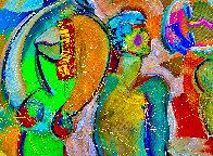 Fandango 2018 46x52 Huge Original Painting by Giora Angres - 2