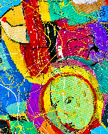 Beethoven Bangs 2020 46x34 Original Painting by Giora Angres - 3
