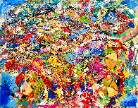 Perceptions 2014 30x40 Huge Original Painting by Giora Angres - 0