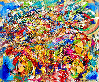 Perceptions 2014 30x40 Huge Original Painting by Giora Angres - 1