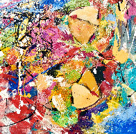Perceptions 2014 30x40 Huge Original Painting by Giora Angres - 2