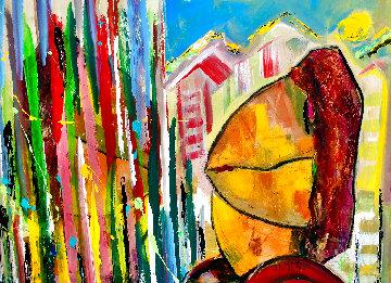 Park City 2012 26x38 Original Painting - Giora Angres