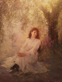 Serenity 40x30 Huge Original Painting -  An He