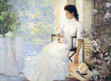 Emily 37x47 Huge Original Painting -  An He