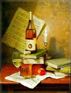 Guenoc 2007 49x38 Original Painting - Dmitri Annenkov