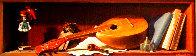 Mandolin 2009 24x49 Super Huge Original Painting by Dmitri Annenkov - 0