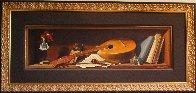 Mandolin 2009 24x49 Super Huge Original Painting by Dmitri Annenkov - 1