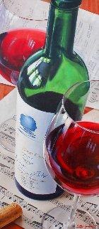 Opus One / Sheet Music 2011 47x27 Super Huge Original Painting - Dmitri Annenkov