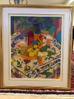 Bodegon Con Mantel 1995 Limited Edition Print by Manel Anoro - 1