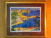 Port Blau 1995 Limited Edition Print by Manel Anoro - 1