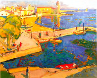 Port Blau 1995 Limited Edition Print by Manel Anoro - 2