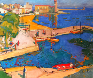 Port Blau 1995 Limited Edition Print - Manel Anoro