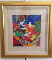 Bodegon En Rojo 1995 Limited Edition Print by Manel Anoro - 1