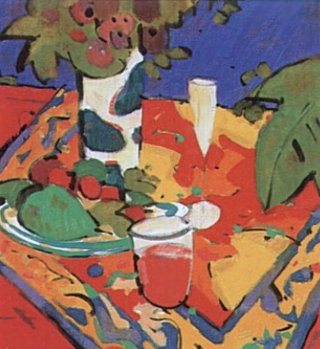 Bodegon En Rojo 1995 Limited Edition Print by Manel Anoro