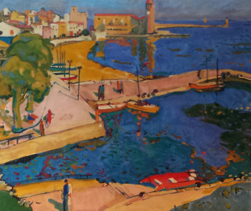 Port Blau 1995 Limited Edition Print by Manel Anoro