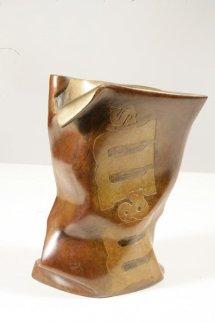 M&M Bronze Sculpture 2005 Sculpture by Robin Antar