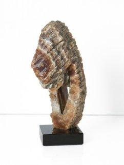 Sea Horse Onyx Sculpture 2009 13 in Sculpture - Robin Antar