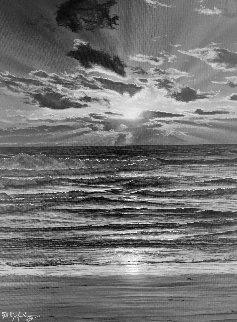 God's Wake Up Call 2010 20x16 Original Painting - Phillip Anthony