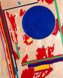 Untitled Set of 2 Prints AP 1982 Works on Paper (not prints) - Stephen Antonakos