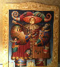 Comedia Del Arte 1998 84x70 Super Huge Original Painting by Anton Arkhipov - 2