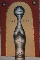 Equilibrium 1992 48x36 Original Painting by Anton Arkhipov - 1