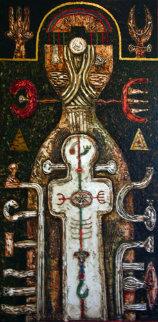 Balance 1995 Original Painting - Anton Arkhipov