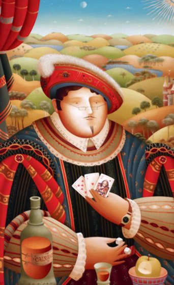 King and Queen Suite of 2  2006 Limited Edition Print by Anton Arkhipov