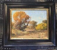 Autumn At Mint Wash 2011 13x15 Arizona Original Painting by Bill Anton - 2