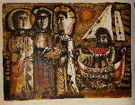 Saints Maries 1951 Limited Edition Print by Antoni Clave - 1