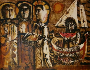 Saints Maries 1951 Limited Edition Print by Antoni Clave