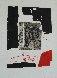 Composition Noire Et Rouge 1970 Limited Edition Print by Antoni Clave - 2