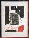 Composition Noire Et Rouge 1970 Limited Edition Print by Antoni Clave - 1