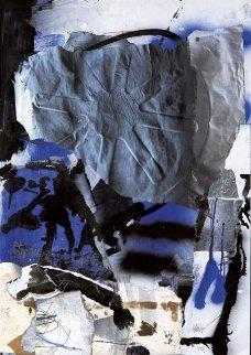 Souvenir 1998 49x37 Huge Original Painting - Antoni Clave