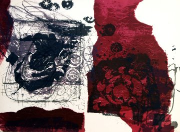 Untitled Lithograph Limited Edition Print by Antoni Clave