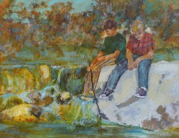 Untitled Painting 36x48 Huge Original Painting - Anton Sipos