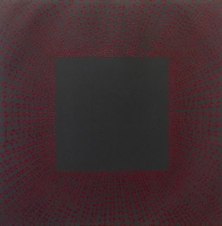 Winter Suite (Red With Black) 1979 Limited Edition Print by Richard Anuszkiewicz