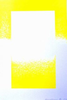 Yellow Reversed 1970 Limited Edition Print - Richard Anuszkiewicz