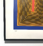 Temple of the Golden Red 1985 Limited Edition Print by Richard Anuszkiewicz - 3