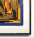 Temple of the Golden Red 1985 Limited Edition Print by Richard Anuszkiewicz - 4