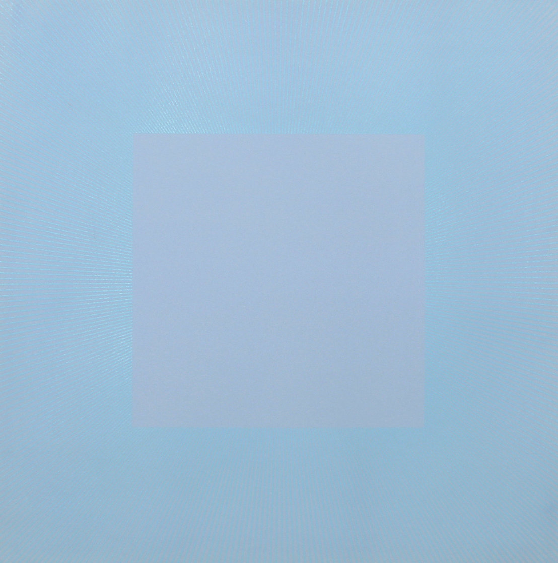 Winter Suite (Light Blue with Light Blue) 1979 Limited Edition Print by Richard Anuszkiewicz