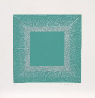 Winter Suite (Green with Silver) 1979 Limited Edition Print by Richard Anuszkiewicz - 1