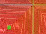 Six Squares 1969 Limited Edition Print by Richard Anuszkiewicz - 2