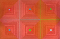 Six Squares 1969 Limited Edition Print by Richard Anuszkiewicz - 0