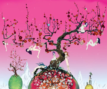 Japanese Apricot 3 2008 Limited Edition Print by Chiho Aoshima