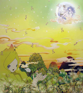 Yuyake Chan Miss Sunset 2006 Limited Edition Print - Chiho Aoshima